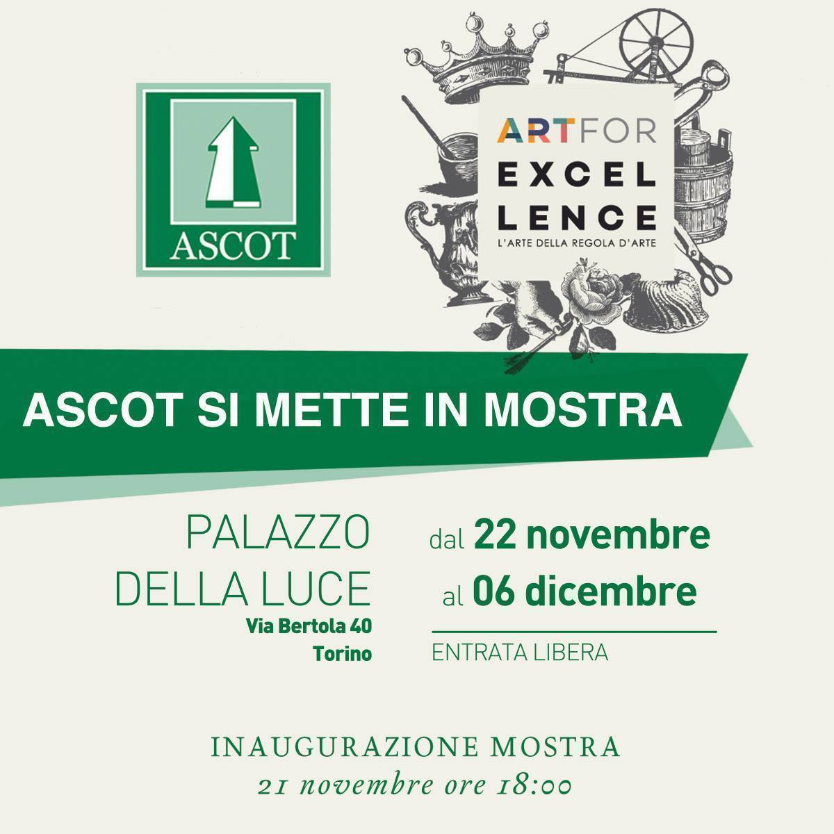 Conto alla rovescia per Art for Excellence 2018