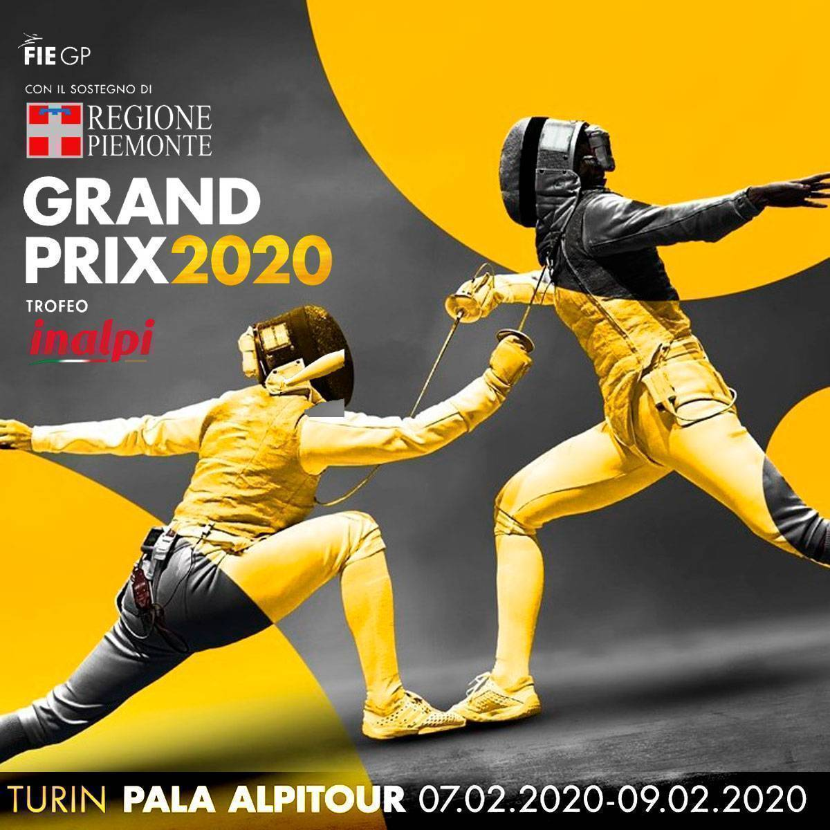 OFFICIAL SPONSOR del Fencing Grand Prix