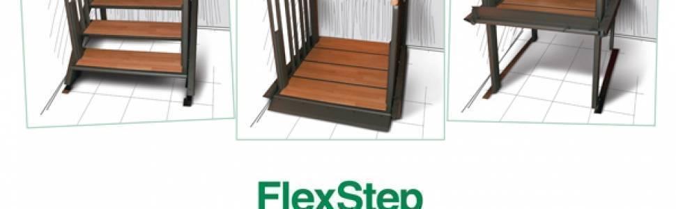 Ascot presenta FLEX STEP: la scala che diventa ascensore